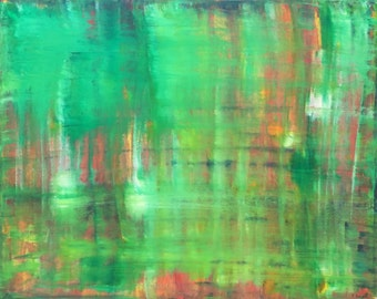 Jar - Abstract Painting by Teddy Engel