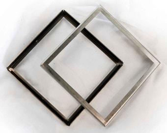 "10 Piece Set 3""x3"" Magnetized Steel Frames"