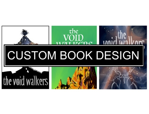 Illustrated Book Cover Job : Custom illustrated book cover design by pagalini on etsy
