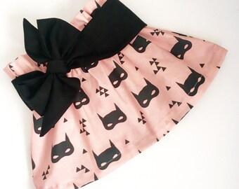 Our {BatGirl} swing skirt