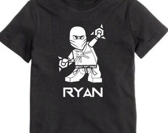 Ninjago Zane shirt for Boys