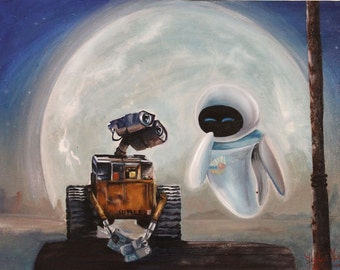 Wall-E painting