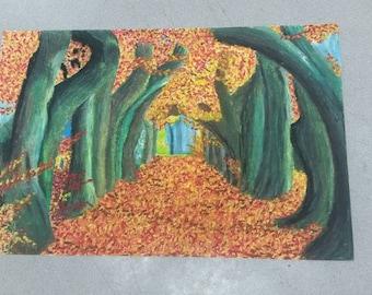 The Autumn Woods