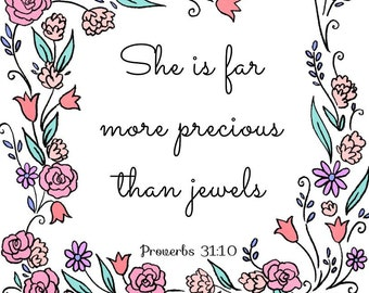 more precious than jewels