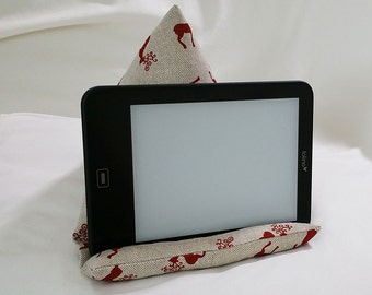 Tablet pad, E-reader support pillow, reading pillow, E-reader support, beanbag