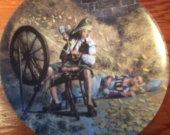 Rumpelstilzchen 1981 Collectors Plate (Charles Gehm: Grimms Fairy Tales)