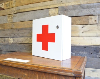 Vintage First Aid Bathroom Cabinet