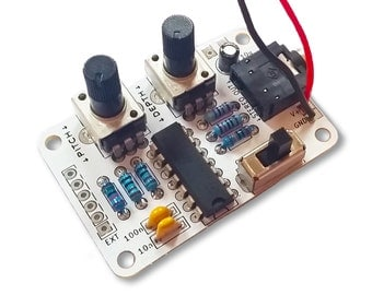 Atari Punk Console Kit, Beginners DIY Electronic Project, Circuit Bent Synthesizer, Noisemaker