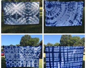 Custom tie dye hippie tapestry