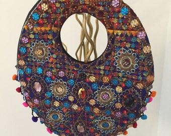 Oriental handbag high quality hangefertigt