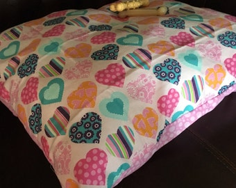 Handmade Reversible Puppy/Small Dog Bed