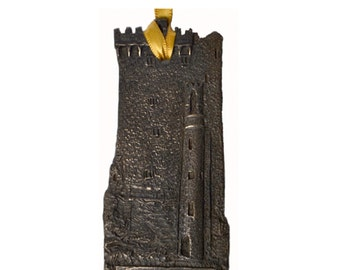 "Bronze Blarney Castle Hanging Decoration 4"" [TSF31]"