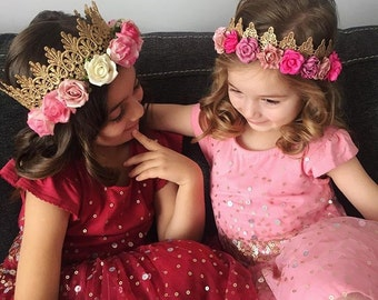 Lace Flower Crown