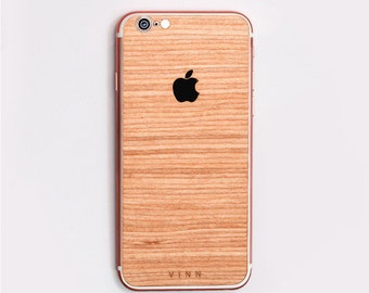TUX Wooden Skin for iPhone - Cherry