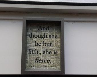 Shakespeare quote