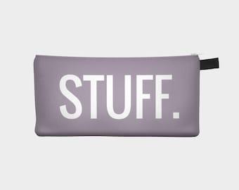 STUFF. Pencil Case ( Makeup Pouch )