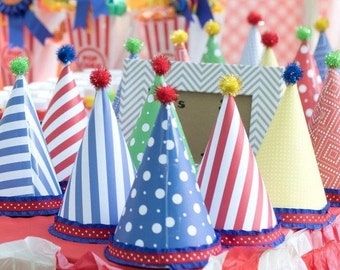 Party hats PRRSONALIZED any color or them