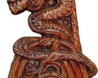 Sculpture Saint Michel