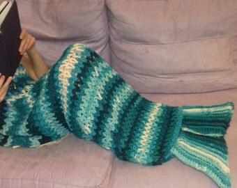 Indoor siren, siren blanket, merino merino wool blanket, blanket, handmade, made in italy, marmaid Tail blanket, одеяло, sæng 毯,