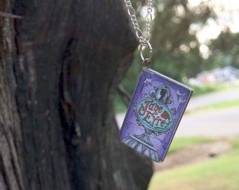 Jane Eyre book neclace