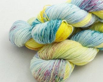 Apollo  on Shoal, 75 Merino 25 Nylon, fingering weight yarn handdyed indie