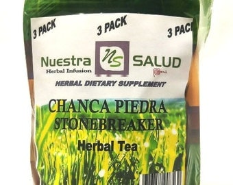Chanca Piedra - Stonebreaker Herbal infusion Tea 3 pack 90G
