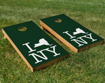 New York Jets Pride Cornhole Board Set