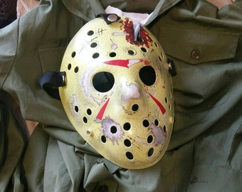Jason Voorhees Friday the 13th part 4 mask.