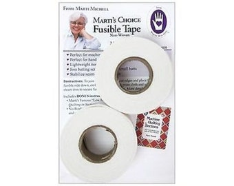 Marti Michell Fusible Tape 1x 30yd 2 Rolls new