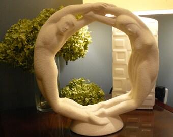 Haeger Eternal Love Sculpture