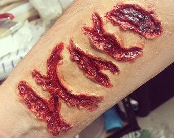 Prosthetic slit wrist