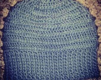 Men's Riptide Crochet Beanie