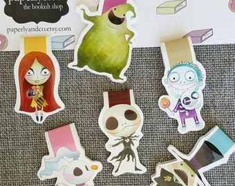 Nightmare Character Magnetic Bookmarks Set of Six