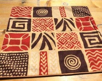 Batik-Kissenbezug- Japanes 40x38,5 cm