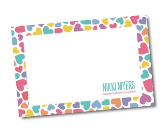 Customized Thank You Note Card File- digital file