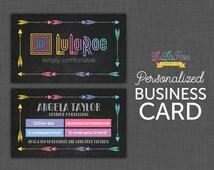 Chalkboard Design | LuLaRoe Business Card | Chalkboard LuLaRoe Arrow | Custom