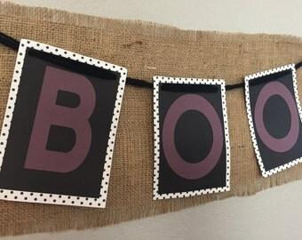 Square BOO banner