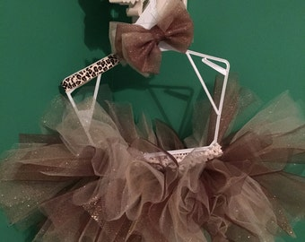 Leopard Tutu and Headband