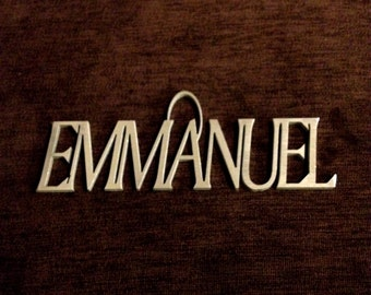 "Names of Jesus: ""Emmanuel"""