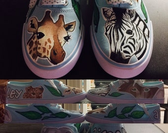 Customizable wild life shoes!