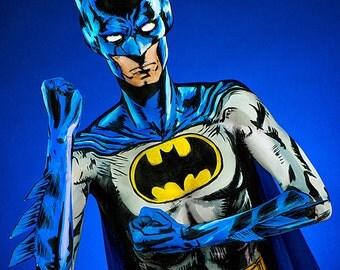 Batman Bodypaint 8.5x11 Print