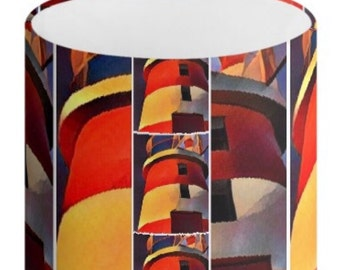 Drum Lamp Shade Lighthouse design