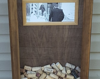 Custom cork holder with picture
