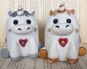 Lil Unicorn Wedding Cake Toppers