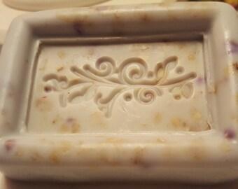 Rectangular Embossed Soaps