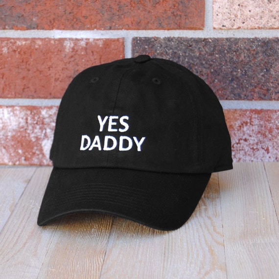 Yes Daddy Baseball Cap Black Baseball Cap Unisex Baseball