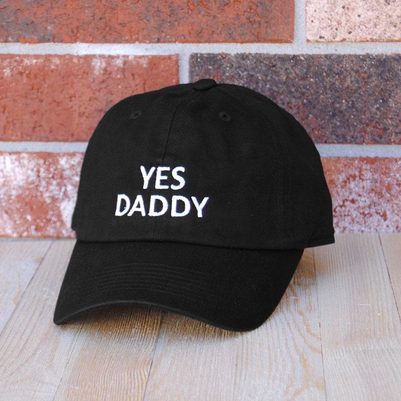 Yes Daddy Baseball Cap Black Baseball Cap Unisex Baseball