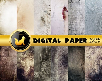 White Grey Distressed Background,Old Wall Scrapbook Paper,white Paper,Chilled paint Background,Old Wall Backdrop,digital paper,grey paper