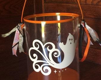 Personallized Halloween Candy Bucket