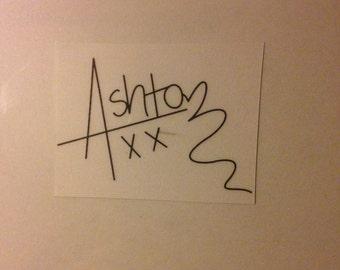 CLEAR Ashton Irwin signature